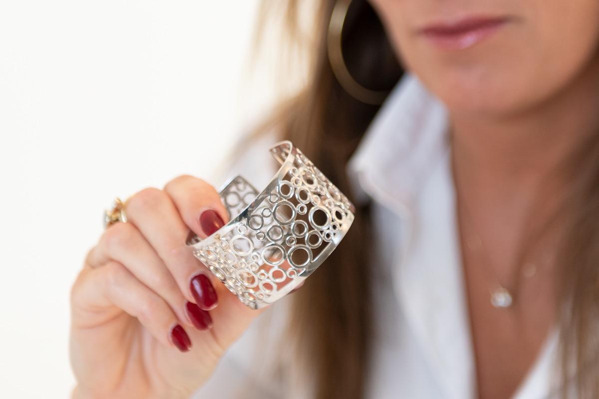 Opmeten juwelen met schets