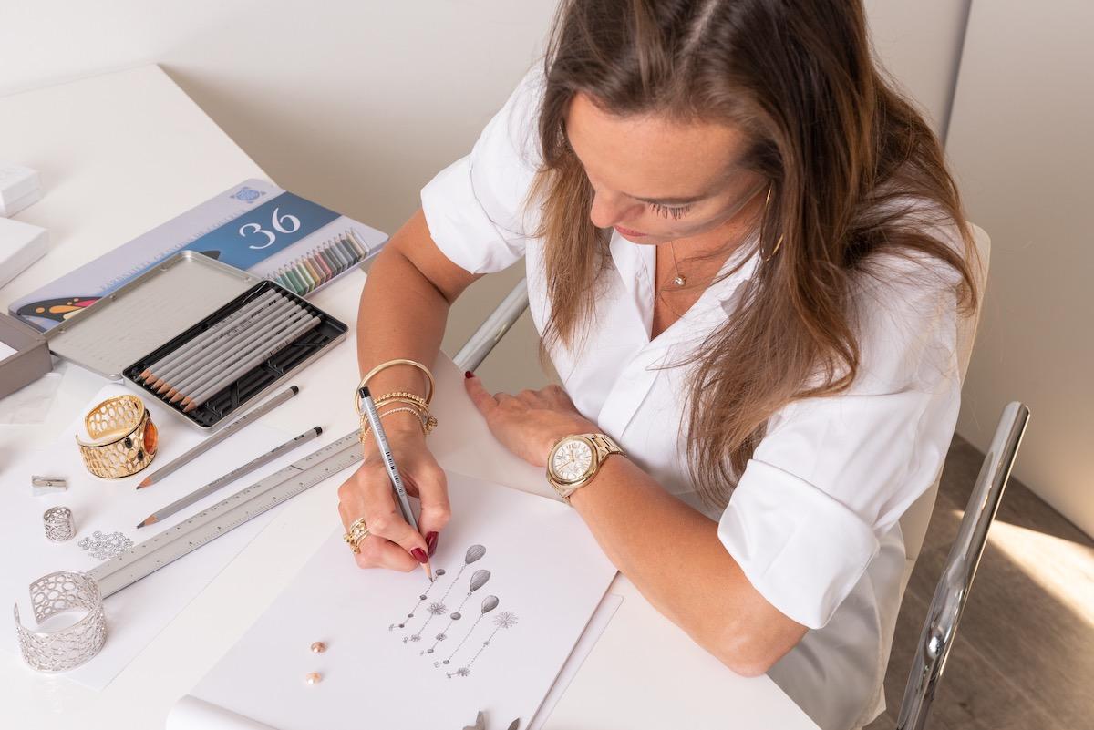 sieraden casa jewelry schets ontwerp